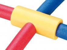 All-In Sport: Steekverbinding voor het koppelen en aan elkaar rijgen van Funnoodles. Met 2 zijgaten. Ø 10 x 32 cm