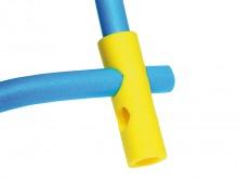 All-In Sport: Van slijtvast nylon netmateriaal. Simpelweg de Poolnoodle/Funnoodle door de opening schuiven en al meteen kunt u comfortabel gaan zitten ...