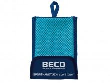 All-In Sport: Absorberende sporthanddoek van microvezel voor snelle wateropname. Ideaal voor reizen, zwemmen en recreatie. Hoogwaardig microvezel kwali...
