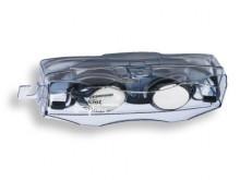 All-In Sport: De universele zwembril Lima biedt de bijzonderheid, dat de neusbrug verstelbaar is. De afdichting van het frame, is voorzien van Silicone...