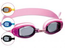 All-In Sport: Deze zwembril is ideaal voor kinderen en jongeren. De lamellenafdichting en de 1-delige hoofdband zijn van Siliconen. De oogschalen zijn ...