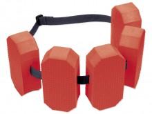 All-In Sport: 5-bloks zwemgordel voor 15-30 kg lichaamsgewicht met verstelbare band met snelsluiter. Gecertificeerd volgens EN 13138 1:2008