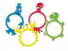 All-In Sport: Het populaire duikspel met leuke figuren. De 4 monsters in een ringvorm zijn qua kleur verschillend en bieden heel veel duikpret. Spannen...