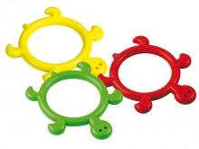 All-In Sport: De duikring Schildi is op basis van de vorm speciaal voor kinderen geschikt. De ring in schildpadoptiek stimuleert de kinderen spelenderw...