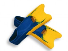 All-In Sport: van rubber met verstevigingskanten aan het blad - optimaal voor de zwemtraining. Levering per paar.
