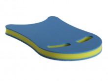 All-In Sport: Van PE-schuim, speciale plank met 2 gripuitsparingen voor handen of voeten, inzetbaar voor arm- en beentraining. Afm. ca. 45 x 31 x 4 cm.