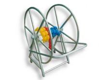 All-In Sport: De haspel (trommel) heeft een doorsnede van ca. 98 cm en is simpel afneembaar.