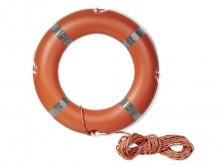 All-In Sport: Een reddingsring in de onmiddellijke nabijheid is overal vereist, waar zich mensen in en bij water ophouden. De reddingsring SOLAS is van...