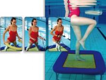 All-In Sport: Eurotramp revolutioneert de aqua-fitness sector! De volledig nieuwe, kwalitatief hoogwaardige onderwatertrampoline kan in combinatie met ...