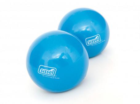 Toning Ballen SISSEL Pilates per paar