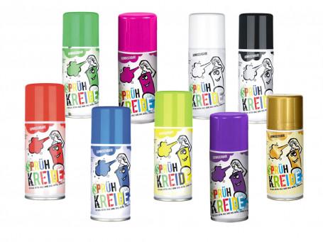 Krijtspray 150 ml  in verschillende kleuren