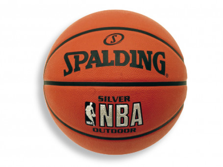 Basketbal Spalding® NBA SILVER OUTDOOR mt. 7