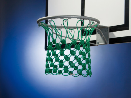 Basketbalnet ANTI-VANDAAL 12-punts bevestiging