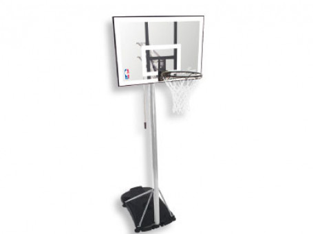 Basketbalpaal Spalding® NBA Silver Portable