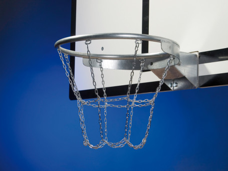 Basketbal kettingnet HEAVY-METAL 8-punts bevestiging