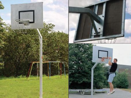 Basketbalmast ROBUUST 165 cm overhang