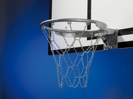 Basketbal kettingnet STANDAARD 12-punts-bevestiging