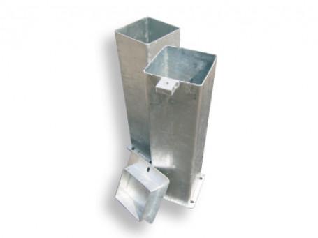 Bodemhulsafdekking voor bodemhuls 150 x 150 mm