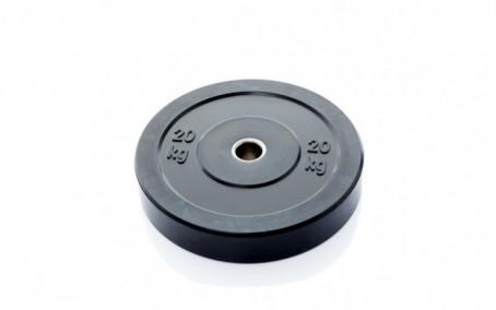 Ol Zwarte Bumper Plate 20 kg