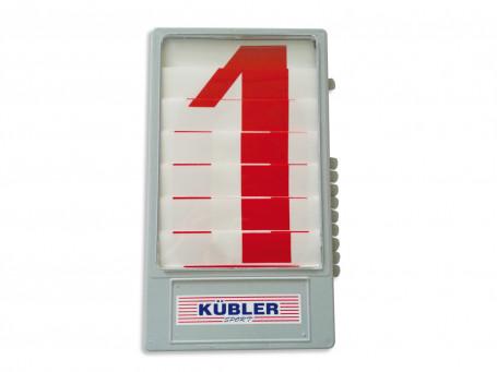 Scorebord cijfercassette rood