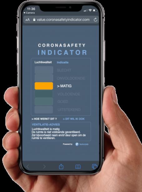 Corona Safety Indicator