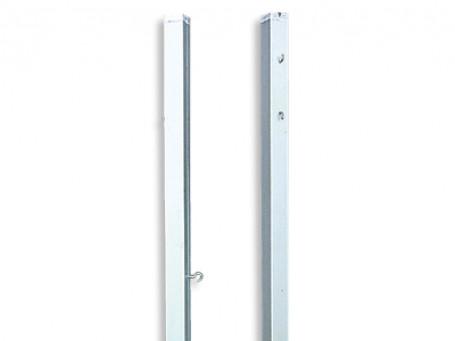 Badmintonpalen aluminium 80 x 80 mm per paar