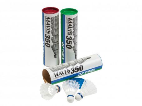 Badmintonshuttles Yonex® MAVIS 350 snel - rood