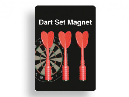 Dartpijlen magnetisch set van 3 stuks, rood
