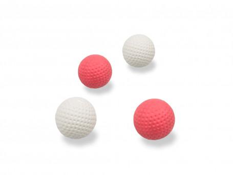 Minigolfballen, 4 stuks