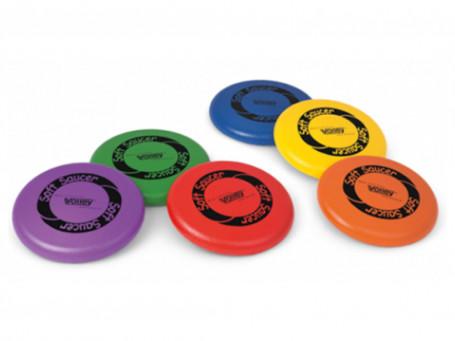 Frisbee Soft met huid
