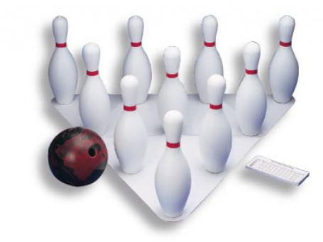 Bowlingset van kunststof
