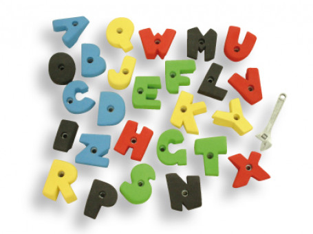 Klimgrepenset Alphabet
