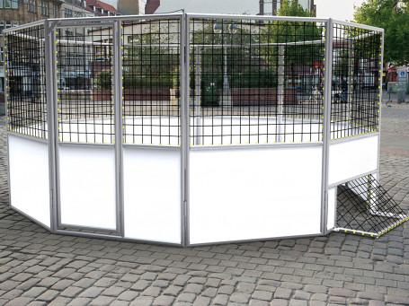 Soccout Court Ø 5 meter - met netomranding