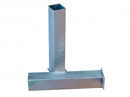 Bodemhuls van staal voor Slacklinepaal