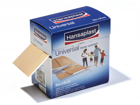 Hansaplast Elastic 5 meter x 6 cm