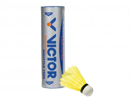 Badmintonshuttles Victor® SHUTTLE 1000 geel
