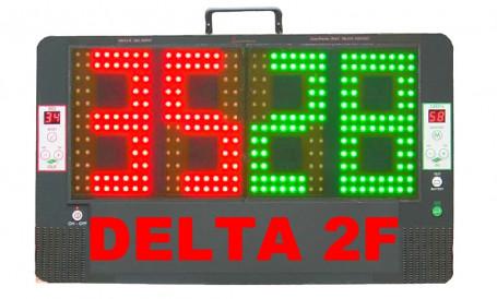 Wisselbord Delta 2F Complete Kit met dubbele Advertising panel