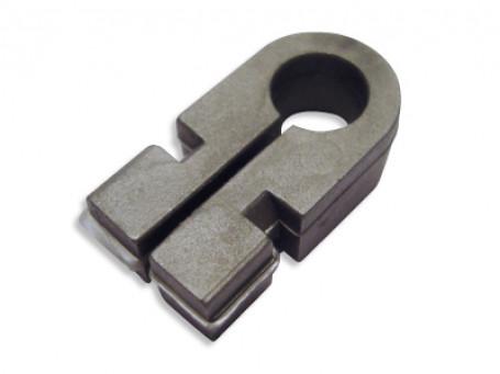 Nethaak, grijs voor montage doelnetten