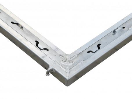 Bodemframe aluminium