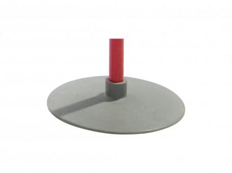 Schotelvoet van rubber Ø 23 cm