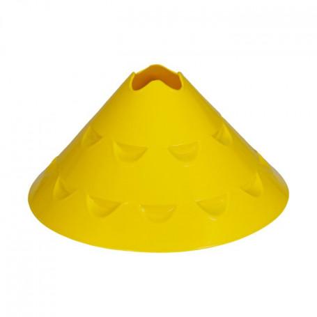 Markeringshoedjes LARGE CROSS set van 10 stuks geel