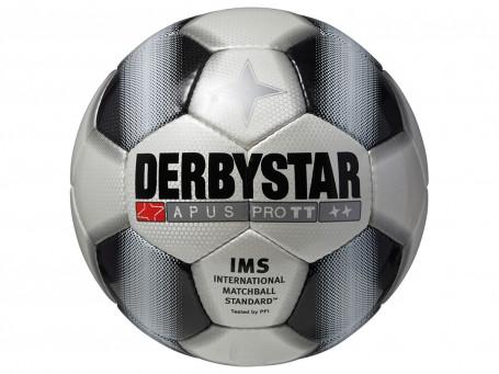 Voetbal Derbystar® APUS TT mt. 5 wit/zwart