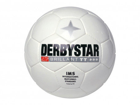 Voetbal Derbystar® BRILLANT TT mt. 5 wit