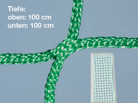 Jeugdvoetbaldoelnetten PP 5 mm groen