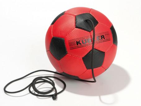 Voetbal met koord Kübler Sport® maat 4