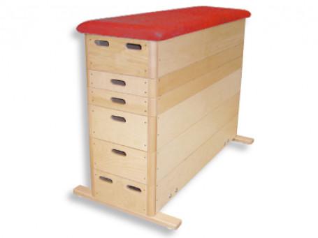Springkasten Kübler Sport® BASIC 6-delig kunstleer