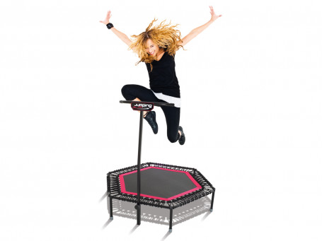 Fitness Trampoline Jumping