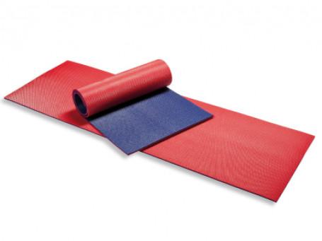Gymmat 180x60x1 cm rood/blauw