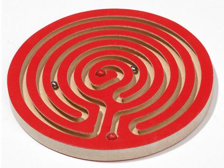 Handbalanceerspel Mini rood Ø 12 cm
