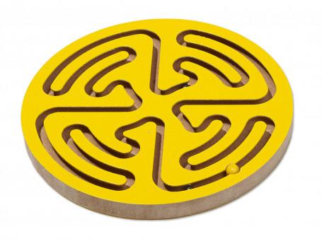 Handbalanceerspel Mini geel Ø 12 cm